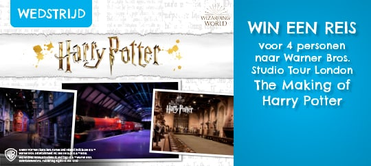 Doe mee aan de Harry Potter-tekenwedstrijd van 18/10 t.e.m. 6/12/2018 en win een reis voor 4 personen naar Warner Bros. Studio Tour London - The Making of Harry Potter