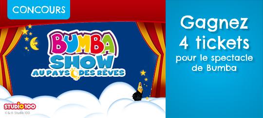 02d1f58f1e0dca Participez au concours Bumba sur dreamland.be du 7 2 au 21 2