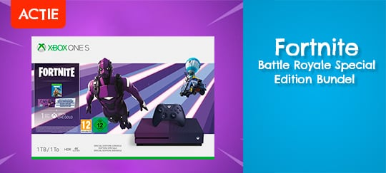 Ontdek nu de Fortnite Battle Royale Special Edition Bundel bij DreamLand!