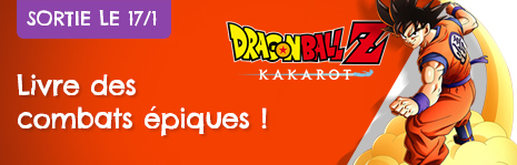 Dragon Ball Z Kakarot sort le 17/1 chez DreamLand.