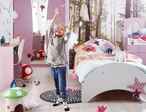 Mooie Kinder Slaapkamers : Jeugd en kinderkamers dreamland