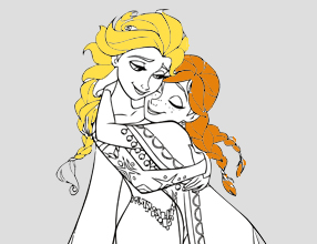 Kleurplaten Frozen Anna En Elsa.Nu In De Kijker Bij Dreamland Frozen
