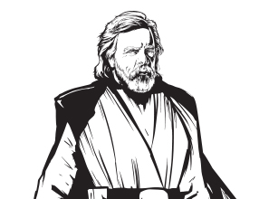 Star Wars Kleurplaten Luke Skywalker.Ontdek Keiveel Leuke Dingen Van Star Wars