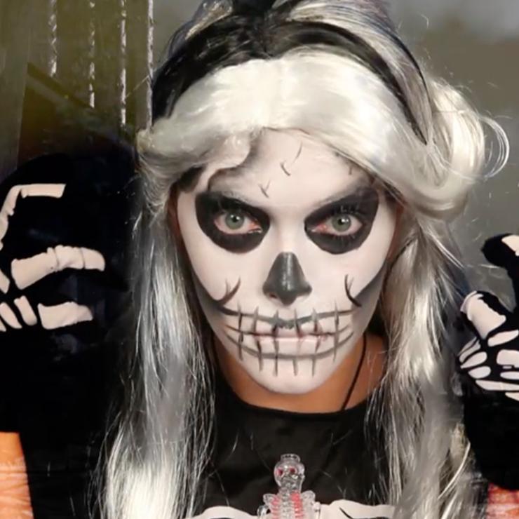 Super Maak je griezelig op voor Halloween! #BS52