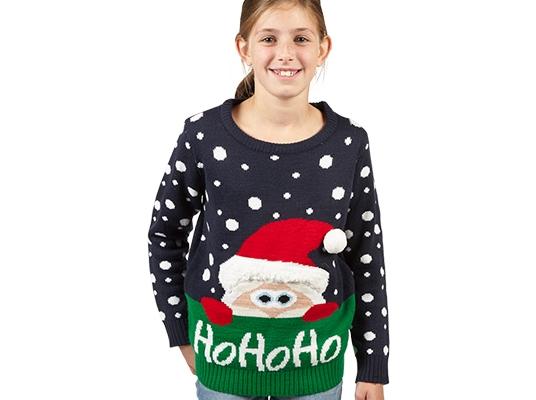 Foute Kersttrui Kind.Persbericht Foute Kersttruien Sokken En Pantoffels Populairder