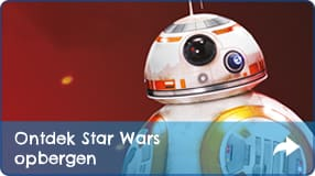 STAR WARS opbergen