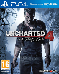 PS4 Ucharted 4: A Thief's End ENG/FR