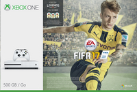 XBOX One S 500 Go + Fifa 17 avec Fifa Legends