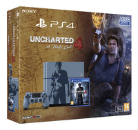 PS4 console 1To Special Edition + Uncharted 4: A Thief's End