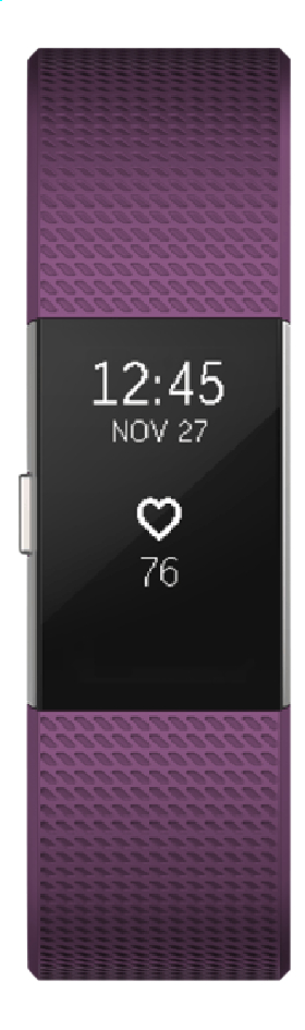 Fitbit activiteitsmeter Charge 2 HR S paars