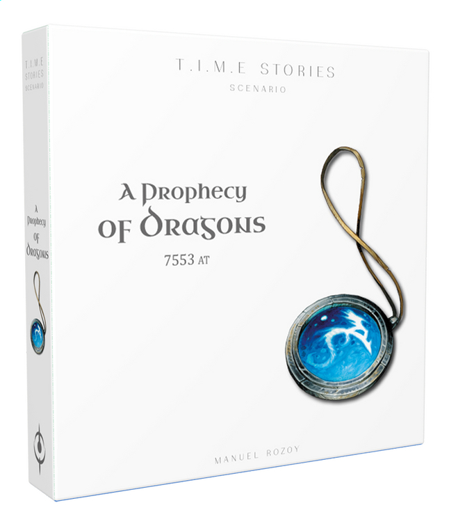 T.I.M.E Stories extension : A Prophecy of Dragons ANG
