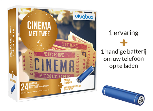 Vivabox Cinema Met Twee